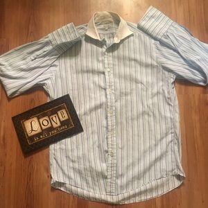 Faconnable men's L/S button-up shirt XL